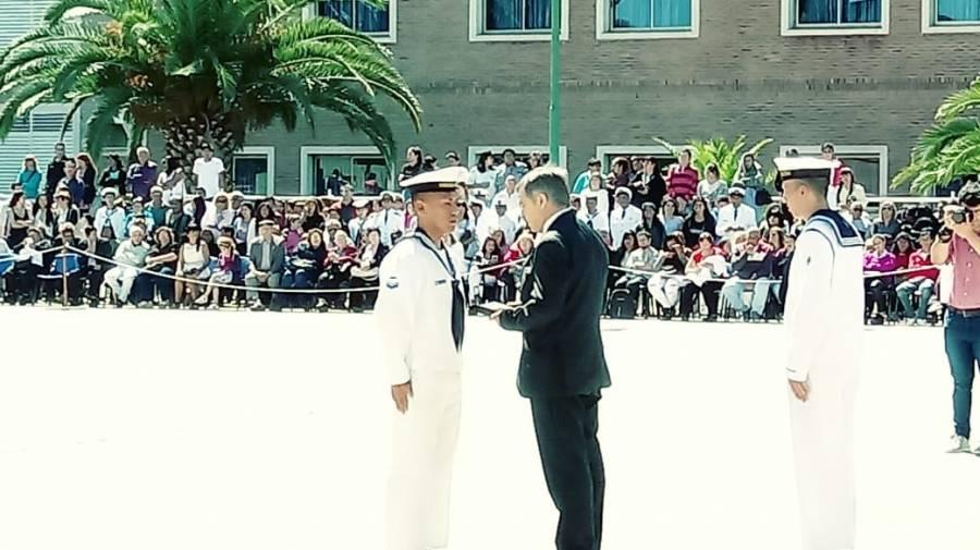Egreso en la Escuela de Suboficiales de la Armada – El Instituto Aeronaval entregó el Premio al Mejor Promedio en Materias Técnicas del Escalafón Aeronáutico